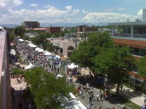 Art Festival in Cherry Creek. A neighborhood in Denver, Colorado.
