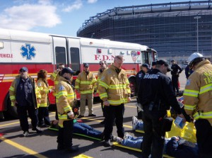 FDNY EMS Conduct a Dirty Bomb Drill