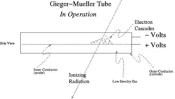 how do geiger counters work geiger mueller tube