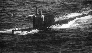 This picture is said to be the photo the U.S. NAVY had of the K-19