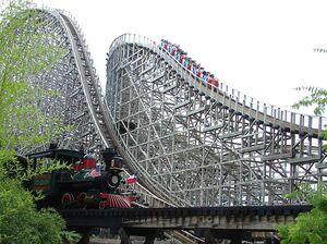 Six Flags Theme Park in Arlington, TX
