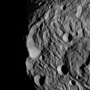 Image of Vesta Asteroid