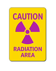 Radiation Area Sign