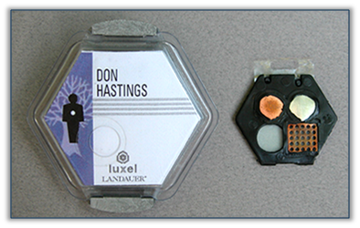 Example of a Luxel Badge